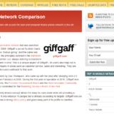 Mobile Network Comparison