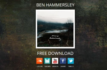 Ben Hammersley Music